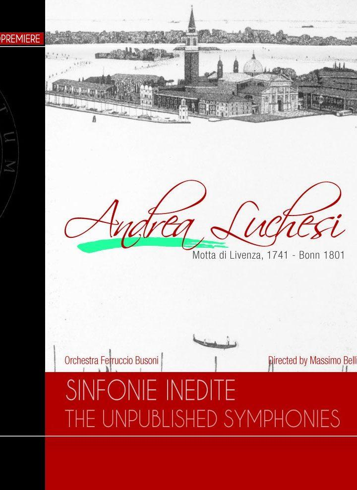Andrea Luchesi. Sinfonie inedite. The unpublished Symphonies