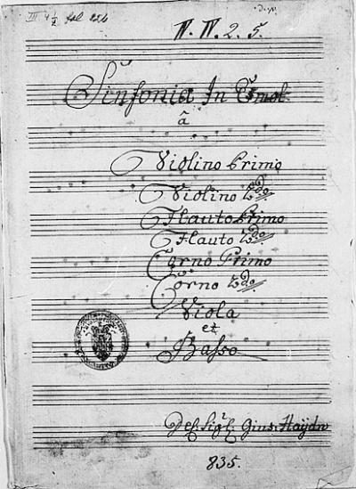 Le Philosoph e gli errori di Haydn.